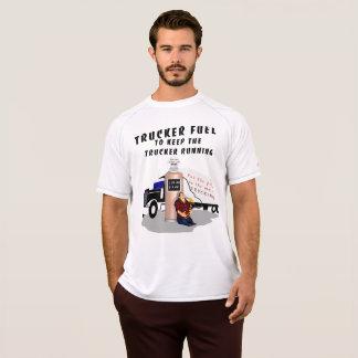 Camiseta Estação do combustível do camionista