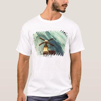 Camiseta Estação espacial de Skylab no espaço