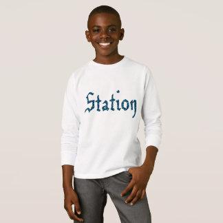 Camiseta ESTAÇÃO inglesa nas estrelas