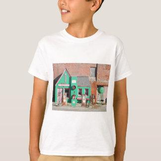 Camiseta Estação velha de Conoco da rota 66
