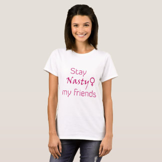 Camiseta Estada desagradável meus amigos!
