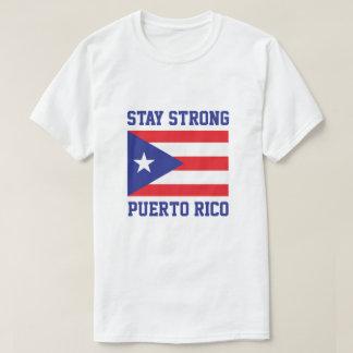Camiseta Estada Puerto Rico forte após o furacão Maria