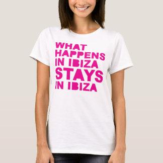 Camiseta Estadas em Ibiza