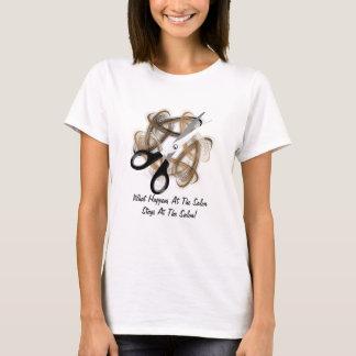 Camiseta Estadas no salão de beleza (customizável)
