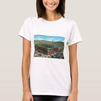 Camiseta Estádio de basebol do parque de liga