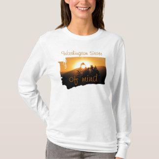 Camiseta Estado de ânimo de Washington
