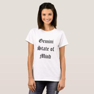 Camiseta Estado de ânimo dos Gêmeos