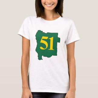 Camiseta Estado de estado de Jefferson 51st