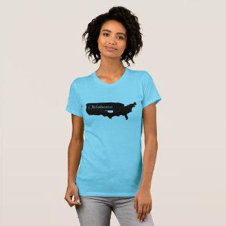 Camiseta Estado de Oklahoma em América