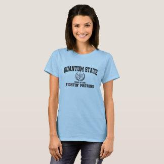 Camiseta Estado de quantum, casa dos fotão de Fightin