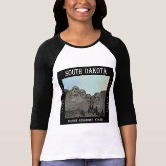 Camiseta Estado de South Dakota o Monte Rushmore