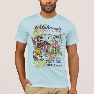 Camiseta Estado de Tulsa justo