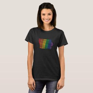 Camiseta Estado do arco-íris de Iowa