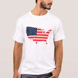 Camiseta Estado unido t-shirt de bandeira de América