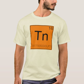 Camiseta Estados periódicos - Tennessee (TN)
