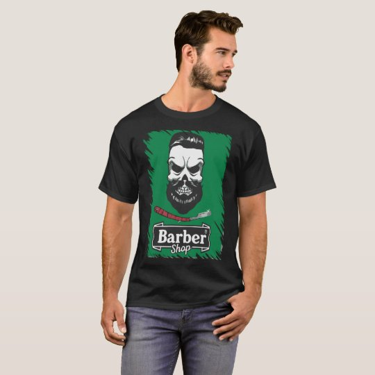 Camiseta Estampada Masculina Barber Shop