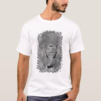 Camiseta Estátua colossal de Ramesses II em Abu Simbel,