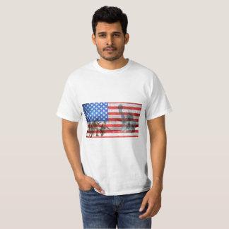 Camiseta Estátua da liberdade das forças armadas da