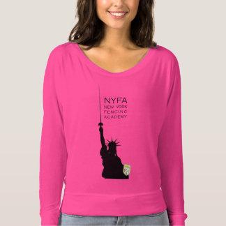 Camiseta Estátua da liberdade NY que cerca as mulheres