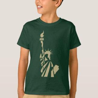 Camiseta Estátua da liberdade - poema patriótico do colosso