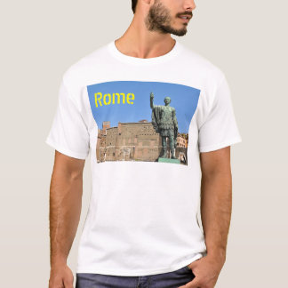 Camiseta Estátua de Trajan em Roma, Italia