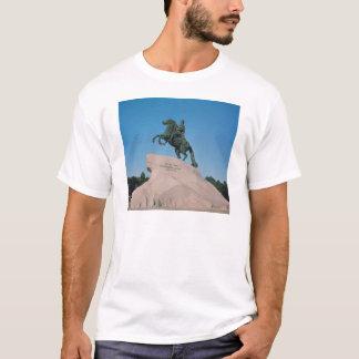 Camiseta Estátua equestre de Peter mim o excelente, 1782