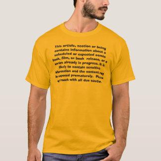 Camiseta Este artigo, seção ou ser contêm o informa…