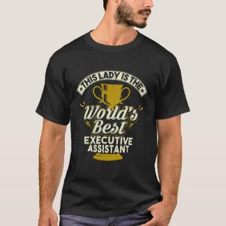 Camiseta Este assistente do executivo de Melhor da senhora