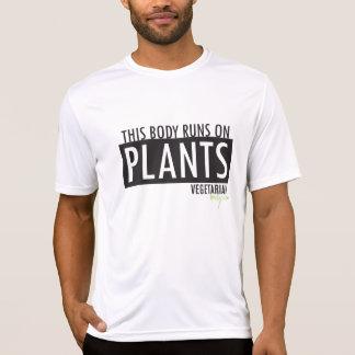 Camiseta Este corpo funciona em plantas