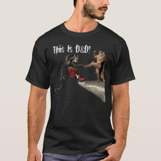 Camiseta Este é D&D!