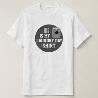 Camiseta Este é meu dia de Laundray