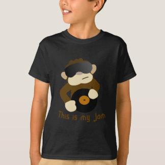 Camiseta Este é meu doce, macaco