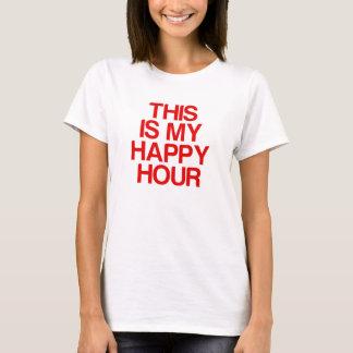 Camiseta Este é meu happy hour