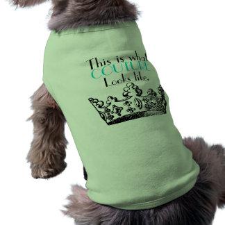 Camiseta Este é o que o COUTURE olha como