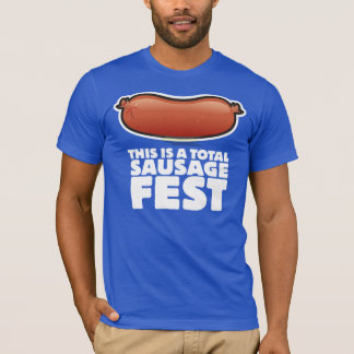 Camiseta Este é um Fest total da salsicha!