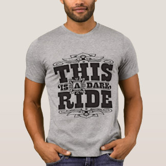 Camiseta Este é um passeio escuro