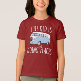 Camiseta Este miúdo é lugares legal indo