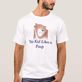 Camiseta Este miúdo gosta ao tombadilho
