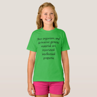 Camiseta Este organismo--preto do órfão da propriedade