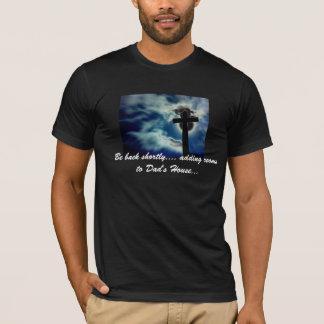 "Camiseta ""Esteja para trás logo… """