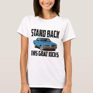 Camiseta Esteja para trás pontapés desta cabra Pontiac 1966