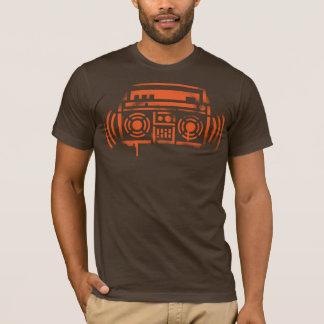 Camiseta Estêncil Boombox