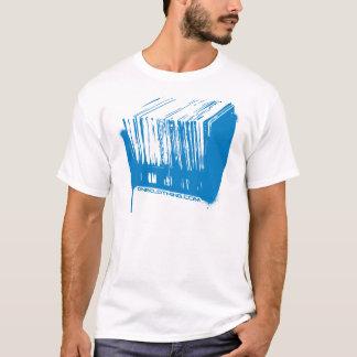 Camiseta Estêncil da caixa