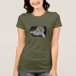 Camiseta Estêncil maltês