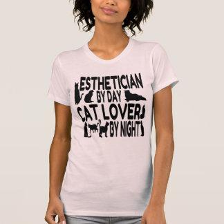 Camiseta Esthetician do amante do gato