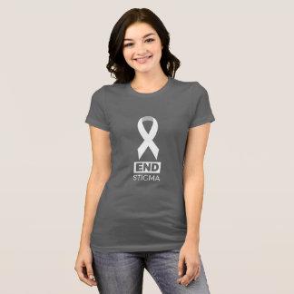 Camiseta Estigma da extremidade para o câncer pulmonar