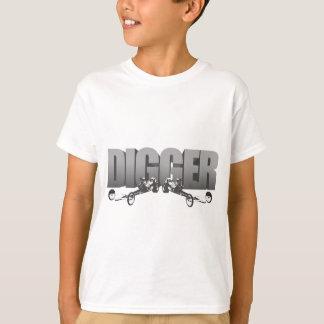 Camiseta Estilingue dianteiro Dragster do motor do