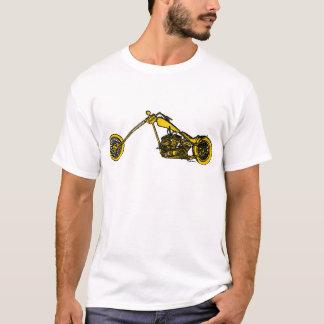 Camiseta Estilo amarelo do interruptor inversor