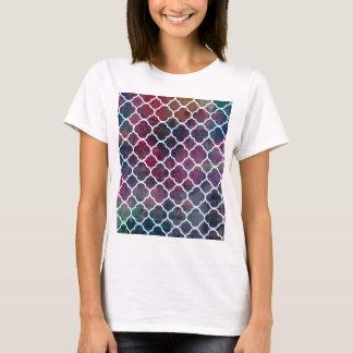 Camiseta Estilo cor-de-rosa do marroquino do Grunge