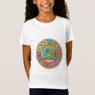 Camiseta Estilo da MANTRA de 108 OM: As meninas multam o